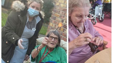 Staff at Orchard House Care Home in Wisbech have been giving residents something to smile about during the Covid-19...