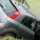 The driver of a Fiat driven into a dike was arrested on suspicion of drink driving. Picture: Norfolk Police