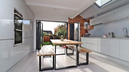 The kitchen benefits from a range of quality integrated appliances including a double oven, fridge, freezer, dishwasher...