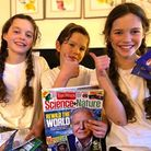 Triplets Indigo, Harry and Lottie Van Beers are appealing for others to support their environmental campaign regarding crisp ...