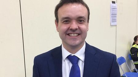 Stevenage MP Stephen McPartland has said he will not be supporting the tier system . Picture: Jacob Savill
