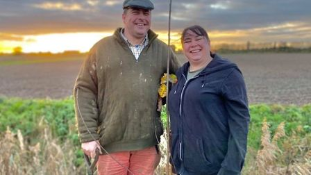 Paul Day (left), owner of Bramblebee Farms, is calling on residents to donate towards a native tree or a metre of native...