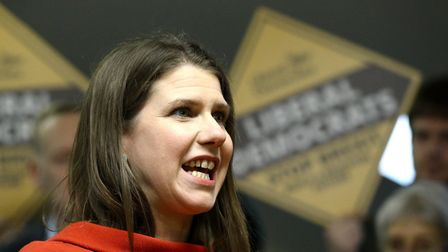 Former Liberal Democrat Leader Jo Swinson. Picture: Aaron Chown/PA Wire/PA Images.