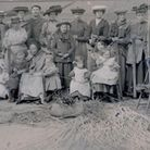Willow making in St Neots around 1907.