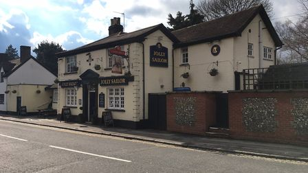 Jolly Sailor, Stone Cross, St Albans. Picture: Archant