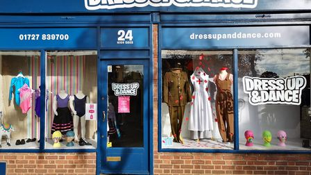 Dress Up and Dance in St Albans sells fancy dress and dance wear.