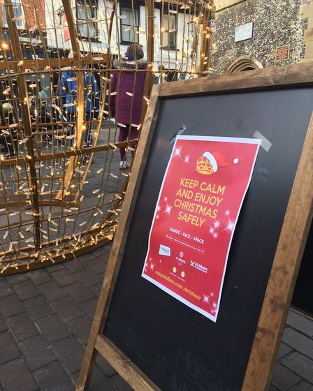 We all need to work together to keep St Albans open this Christmas.