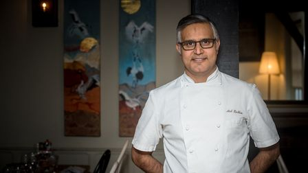 Chef Atul Kochhar is creating the menu for Pub in the Park's Festive Theatre at the Hertfordshire Showground. Picture...
