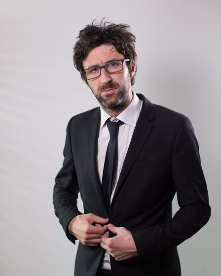 Mark Watson's Christmas Comedy Club will provide the laughs at Pub in the Park's Festive Theatre at the Hertfordshire...