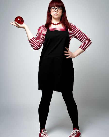 Comedian Angela Barnes will appear at Mark Watson's Christmas Comedy Club at Pub in the Park's Festive Theatre. Picture...