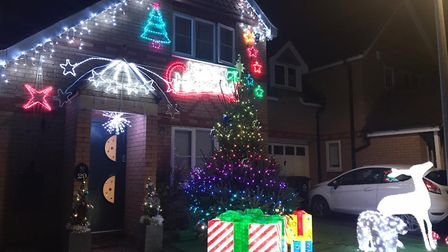 Maria Clifton from St Neots sent this image of her house.