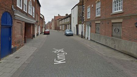 A mobile phone was stolen in King Street Norwich on November 29.