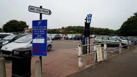Car parking charges are rising 30p per hour in North Norfolk's holiday hotspots pictured is Meadow R