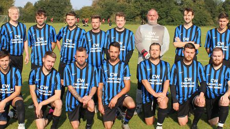 Division Four Wrestlers are the top scorers in the Herts Ad Sunday League. Picture: BRIAN HUBBALL