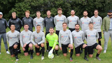 FC Welwyn are top of the table in Division Three of the Herts Ad Sunday League. Picture: BRIAN HUBBALL