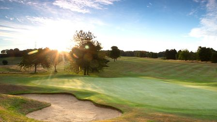 Redbourn Golf Club has been recognised for its environmental efforts. Picture: BGL GOLF