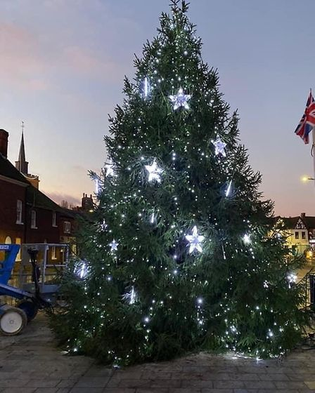 The Christmas lights switch-on will be a virtual event in Baldock this year. Picture: Tara Geere