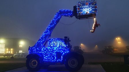 Agricultural machinery dealership, Ben Burgess, is bringing festive cheer to the region with a unique range of Christmas...