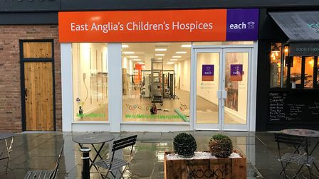The new EACH charity shop, which will open in Royston in January. Picture: EACH