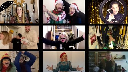 Electric Umbrella have put together a collaborative Christmas song.