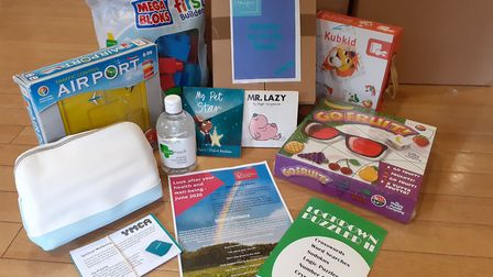'We are hoping to send activity packs to local families in need and give wellbeing packs to our hostel residents.'...