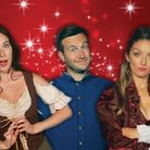 The cast of the Market Theatre's Adult Panto Senmeafella - Vicki Serra, Nick Hooton and Lauren Osborn. Picture: Market...