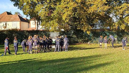 Students in Year 7, 8, 9, 10 and 11 were each given a sapling and a name tag along with an allocated plot out on the field.