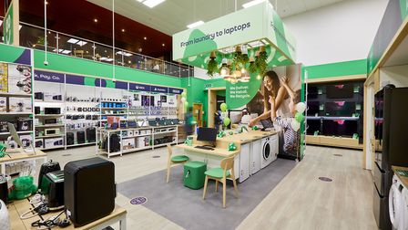 AO launched one an in-person store within Stevenage's Tesco store. Picture: Dave Phillips Photography