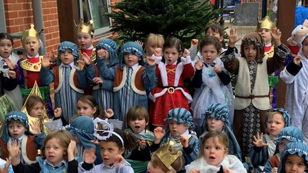 Magna Carta school will film childen making their nativity play debuts. Picture: Magna Carta school