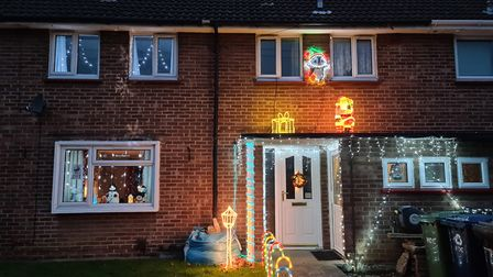 Victoria Boness sent us this photo of her home in St Neots.