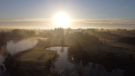 John Wadham captured this image at the Colmworth Golf Course.