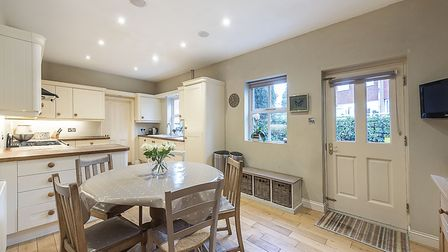 There is side access from the kitchen/breakfast room. Picture: Hamptons