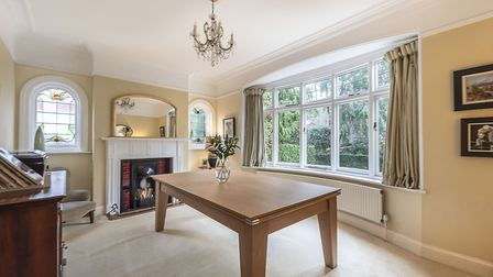 One of the property's two reception rooms. Picture: Hamptons