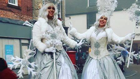 Christmas fairies in St Ives PICTURE: Huntingdonshire District Council