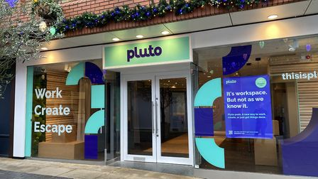 The Pluto store opened this week in St Albans. Picture: Pluto