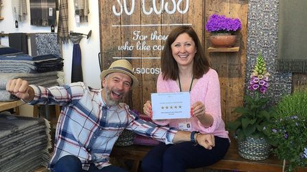 Husband and wife Rimsky and Vilija Birstone, who founded So Cosy together, are supporting Stevenage Community Trust so...
