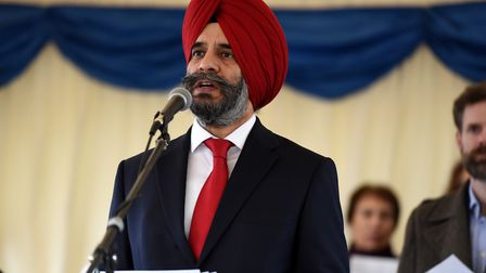 Redbridge council leader Cllr Jas Athwal emphasised how important it is that residents take part in the council's crime surve...