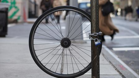 Bike thefts have soared in Islington. Picture: William W. Ward