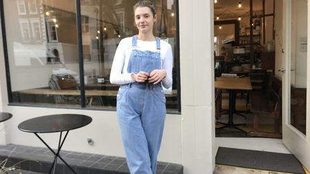 Robyn Sheen, 26, a worker at Sunday restaurant, Hemingford Road. Picture: Daniel Fessahaye