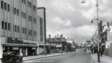 South Street, Romford, in 1936. Four years later bombs were being dropped on the town. Picture: Brian Evans