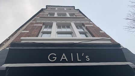 Gail's Bakery at 1 South End Road, South End Green, Hampstead. Picture: André Langlois