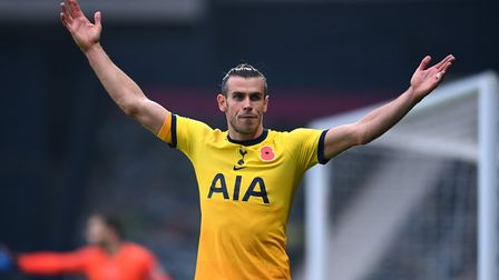 Tottenham Hotspur's Gareth Bale scored from the penalty spot against LASK