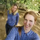 Florence Eavis (left) and Helen Robinson who run Gifted Local. Picture: Gifted Local