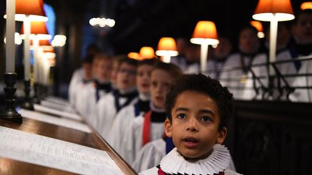 St Paul's Cathedral choristers rehearsing in 2018. Picture: Kirsty O'Connor/PA