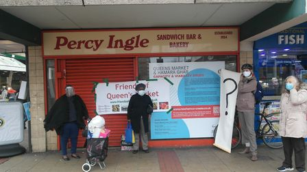 Shoppers, neighbours and traders want more time to mull over plans for Queens Market. Picture: Friends of Queens Market