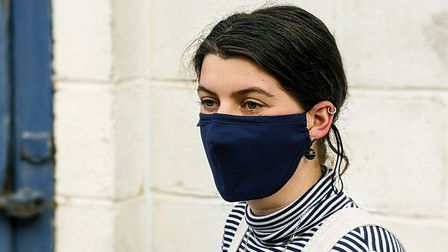 The Blazer mask from Pucker. Picture: Pucker