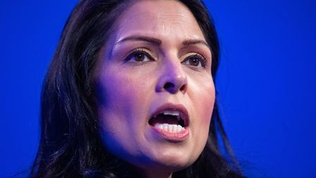 Ms Patel defended deportations and turned on celebrity campaigners. Picture: Dominic Lipinski/PA