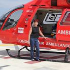 London Air Ambulance volunteer Ann Tyrrell is calling on people to back the charity's Christmas appeal. Picture: London's Air...