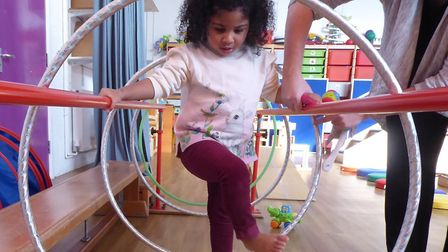 Muswell Hill's CPotential uns therapy for children with problems such as cerebral palsy, global developmental delay and...