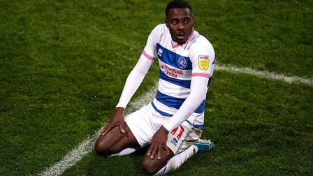 Queens Park Rangers' Bright Osayi-Samuel reacts after a missed chance